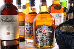 Chivas Brother aged scotch whisky range. Strong year for Chivas Brothers