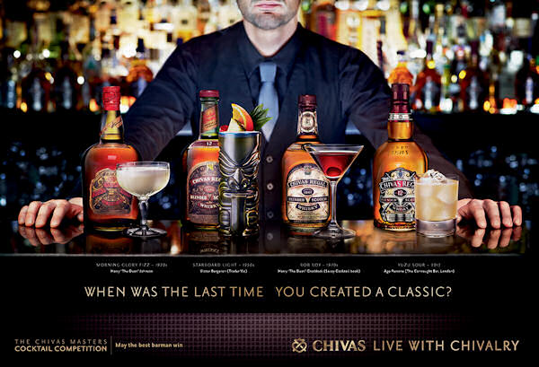 Chivas Regal Invites Bar Masters To Test Their Skills :: 2nd March, 2015