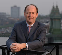 Christian Porta, Chairman and CEO of Chivas Brothers Limited