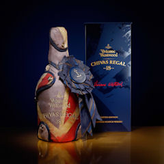 Chivas Regal 18 year old by Vivienne Westwood unveiled at London fashion week - 21st February, 2011