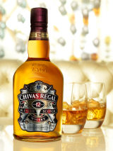 Chivas Regal new packaging for their 12 year old blended Whisky bottle