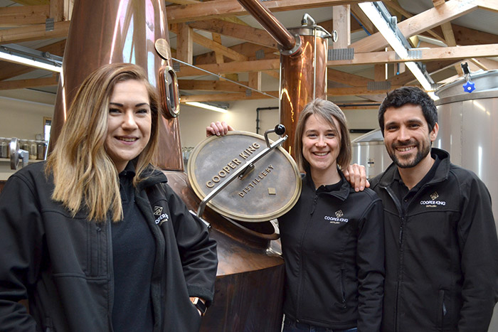Laura Bartram joins Cooper King Distillery team