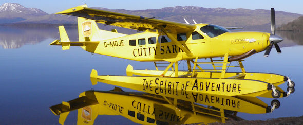 Cutty Sark Whisky Takes Flight for 2013 with Loch Lomond Seaplanes