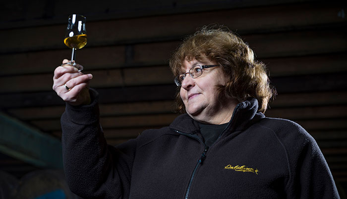 Dalwhinnie Distillery's Liz Stewart: Scotland's First Female Malt Distiller Celebrates Retirement With 'Lizzie's Dram'
