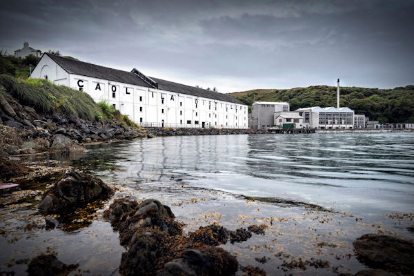 A photo of Caol Ila Scotch Whisky Distillery