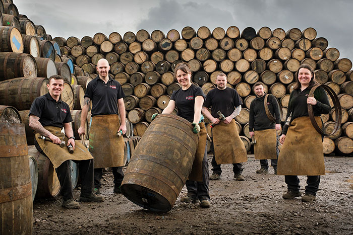 Scotch whisky breakthrough as Diageo recruits the first female coopering apprentices