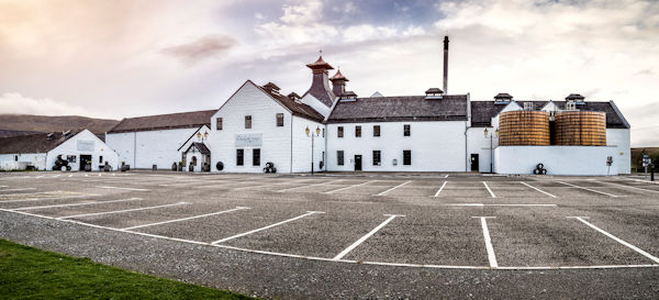 A photo of the Dalwhinnie Scotch Whisky Distillery