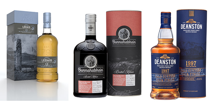 Distell digitally launches 2019 limited release malt collection: Malts from Bunnahabhain, Tobermory and Deanston Distilleries