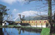 Photo of the Old Bushmills Distillery in Ireland