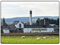 A photo of the Ardmore Whisky Distillery in Huntly