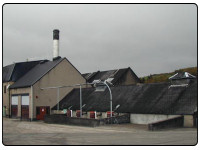 A photo of the Balvenie Scotch Whisky Distillery