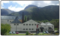 A photo of the Ben Nevis Scotch Whisky Distillery in Fort William