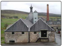 A photo of the Brora Whisky Distillery