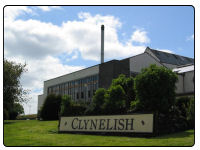 A photo of the Clynelish Distillery in Brora
