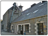 A photo of Dufftown Scotch Whisky Distillery