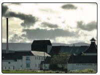 A photo of the Fettercairn Distillery in Perthshire