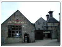 A photo of the Glen Garioch Distillery in Aberdennshire