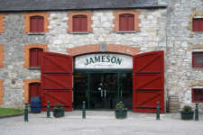 The Jameson Distilery at Midleton in Ireland