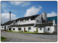 The Isle of Jura whisky Distillery