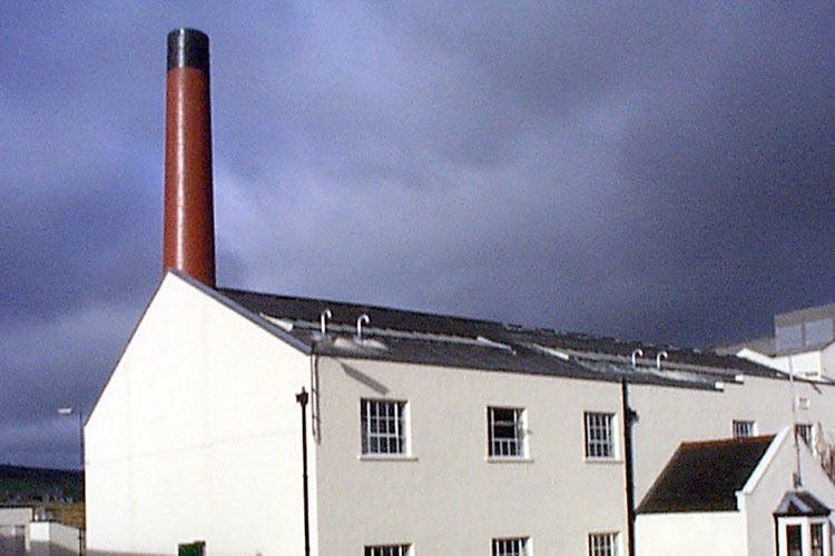 A photo of the Benrinnes Scotch Whisky Distillery
