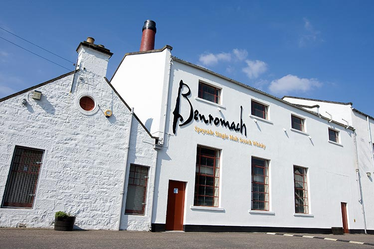 Benromach Whisky Distilery