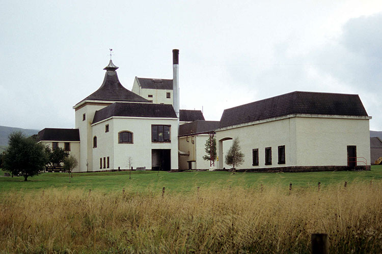 A view of the Braeval Scotch Whisky Distillery