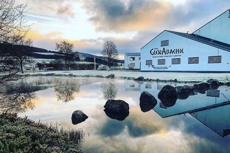 GlenAllachie Whisky Distillery