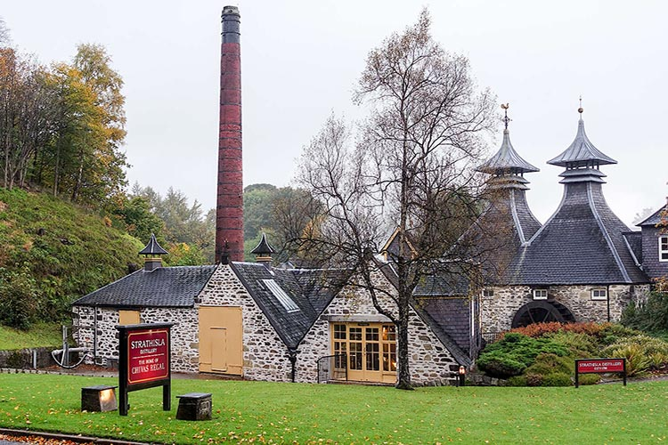 A photo of Strathisla Distillery