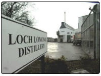 A photo of the Loch Lomond Distillery in Alexandria, Dunbartonshire