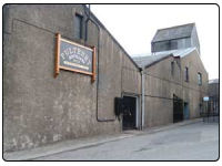 A photo of the Pulteney Whisky Distillery in Wich