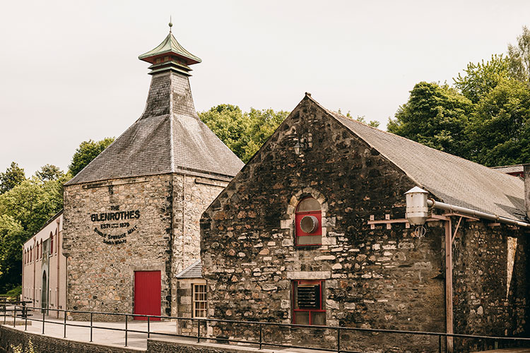 The Glenrothes Scotch Whisky Distillery