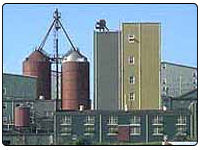 A photo of the Wild Turkey Distillery in Lawrenceburg, Kentucky