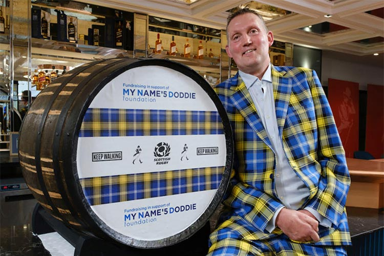 Whisky Industry Joins Forces With Rugby Legend Doddie Weir: Doddie's Foundation
