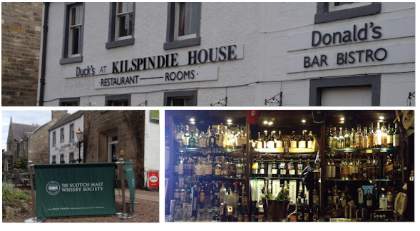Duck's at Kilspindie House Whisky Review | Choose From Over 90 Malts | Also Selection of Malts from SMWS at Duck's at Kilspindie House