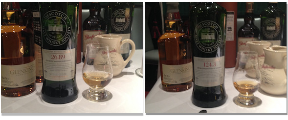 SMWS Whisky Tasting and Review - 26.89 and 124.3
