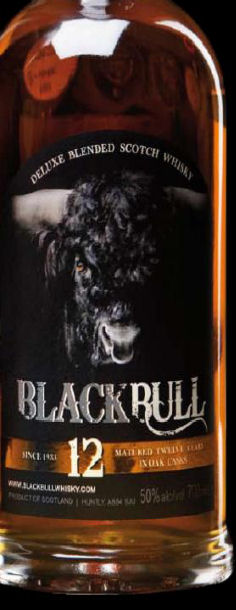 Black Bull 12 Year Old Blended Whisky