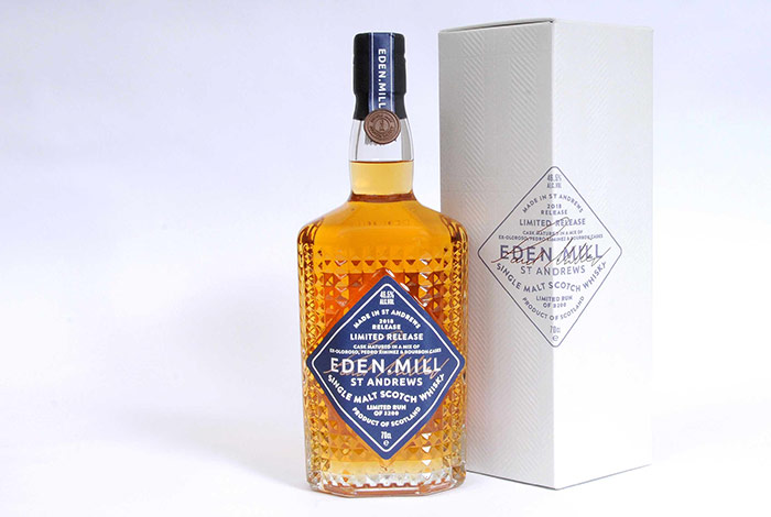 Eden Mill Unveil New Single Malt Whisky For St Andrews Day