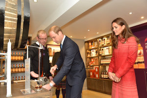 The Earl and Countess of Strathearn at The Famouse Grouse Experience Opening
