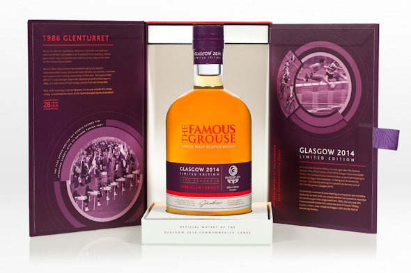 The Famous Grouse Release Limited Edition Commonwealth Games Whisky For Glasgow 2014