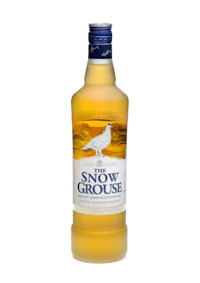 A bottle f The Snow Grouse