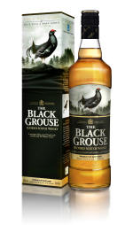 A bottle of Black Grouse - Growth is sales around the UK in 2008