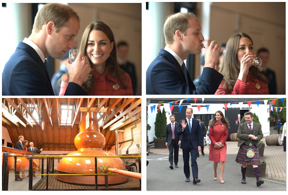 Duke And Duchess Of Cambridge Officially Re-Open Scotland's Oldest Distillery | Glenturret Distillery home to The Famous Grouse Experience