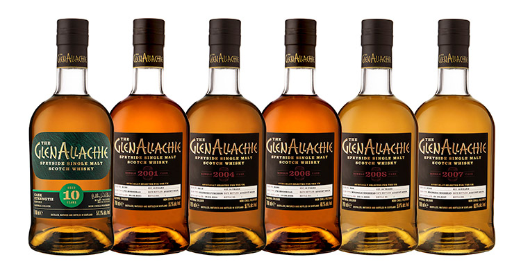 Whisky Distillery Of The Year Marks Milestone By Launching Limited Edition Releases - GlenAllachie is launching Batch 3 of its Cask Strength series