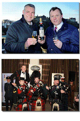 Scotland rugby legend, Scott Hastings, 'Drams Up' charity support - Glengoyne 'Auld Enemy Dram' - 13th February, 2012