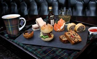 Cameron House Launches 'Manly' Glengoyne Whisky Afternoon Tea