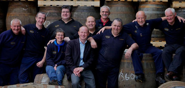 The Glengoyne Distillery Production Team