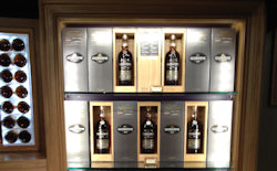 A selection of Glengoyne Malts within their shop