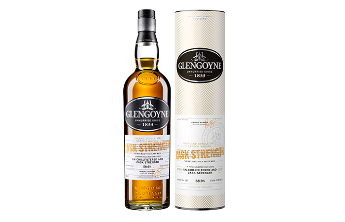 Glengoyne launches Cask Strength Batch No. 007