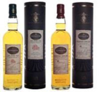 Four bottles of Glengoyne Single Highland Malt Whisky signed by Ewan McGregor and Eva Green, will be auctioned to raise money for charities for Cash for Kids and Beatson Cancer Care Centre.