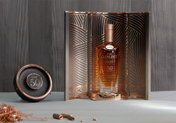 Award-winning British designer Bethan Gray designs The Glenlivet's Winchester Collection Vintage 1967